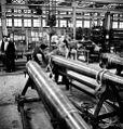 QF 4 inch Mk XVI gun manufacture Sorel Industries 1943 LAC 3197386.jpg