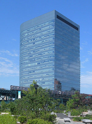New York City Department of Health and Mental Hygiene - 2 Gotham Center in Long Island City, home to the DOHMH