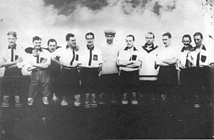 Quilmes Atlético Club - The 1912 team which won the first Primera División championship for the club