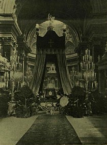 Rákóczi ravatala Budapesten 1906.JPG