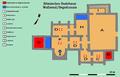 Römisches Badehaus Wallsend-Gebäudeplan.png