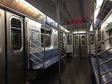 r188 new york city subway car wikipedia. Black Bedroom Furniture Sets. Home Design Ideas