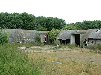 RAF Melton Mowbray - RAF Buildings on the old technical site.