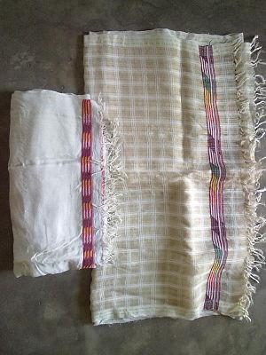 Riha (garment) - Riha as part of Mekhela Chador Assamese traditional women's dress