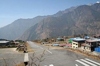 Tenzing–Hillary Airport Airport in Lukla, Nepal