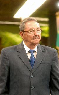 Ra�l Castro, presidente de Cuba
