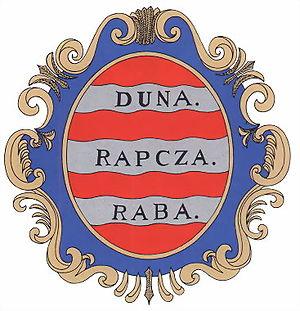 Győr County - Image: Rab coatofarms