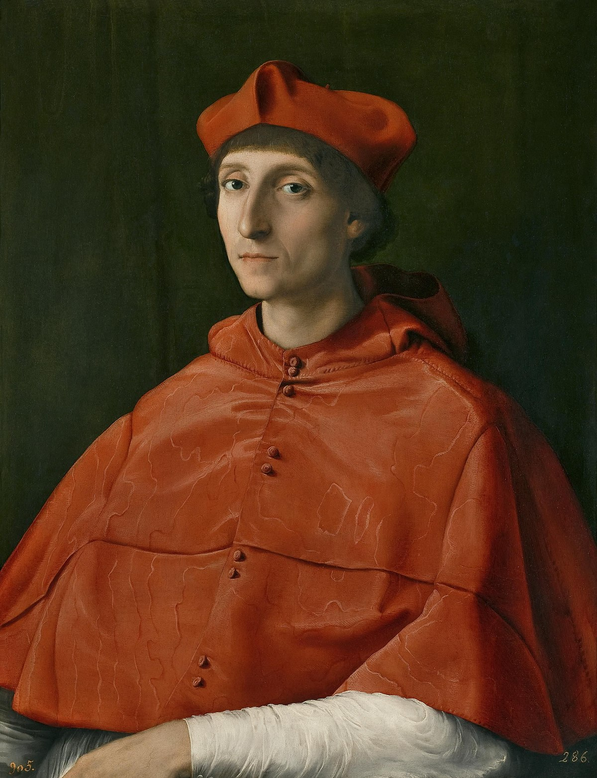 Ritratto di cardinale (Raffaello) - Wikipedia