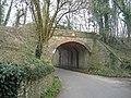 Railway bridge, Cloud Hill - geograph.org.uk - 364478.jpg
