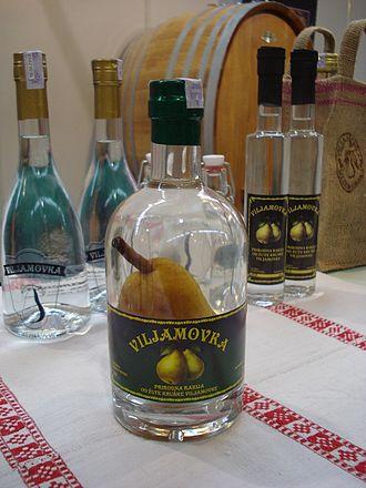 Williams pear - Brandy