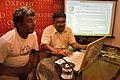 Rangan Datta and Amartya Talukdar - Editing Session - Wikilearnopedia - Oxford Bookstore - Kolkata 2015-08-23 3630.JPG