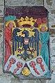 Rapperswil - Schloss - Wappenschild mit Reichsadler - Innenhof 2012-11-01 14-51-26.JPG
