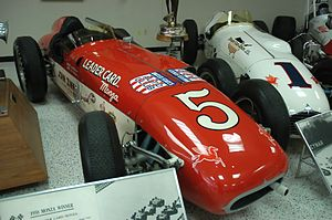 A. J. Watson - A 1958 Watson-Offenhauser which won the Race of Two Worlds in Monza, Italy.