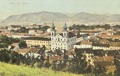 Razglednica Gorice 1915
