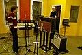 Re-amp, Guy and Jérôme, Marc Morgan album recording, LowSwing studio, Berlin, 2011-01-25 22 32 00.jpg