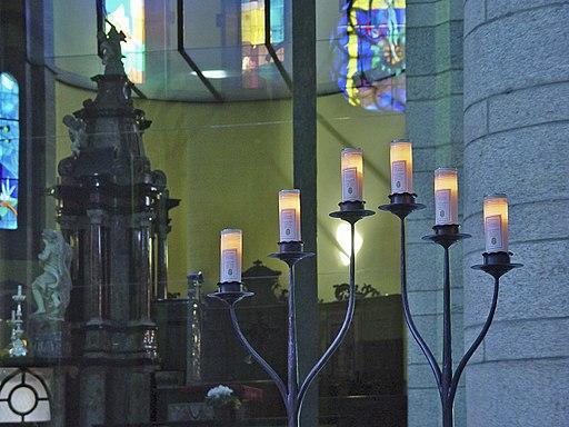 Re Wallfahrtskirche Kerzen