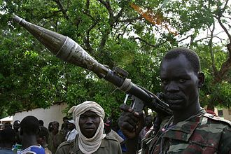 History of the Central African Republic - Rebel in northern Central African Republic
