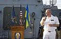 Reception with Ambassador Pyatt Aboard USS ROSS, July 24, 2016 (28505335051).jpg