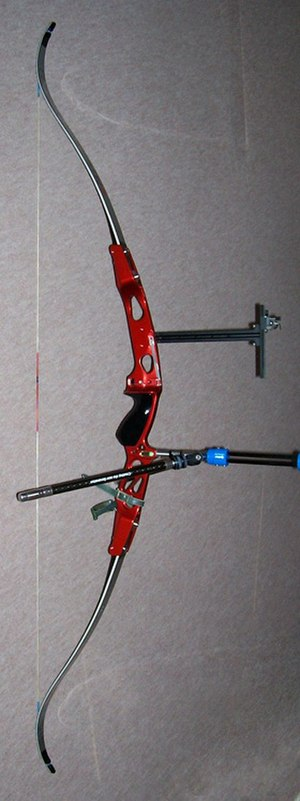 Recurve bow - A modern recurve bow