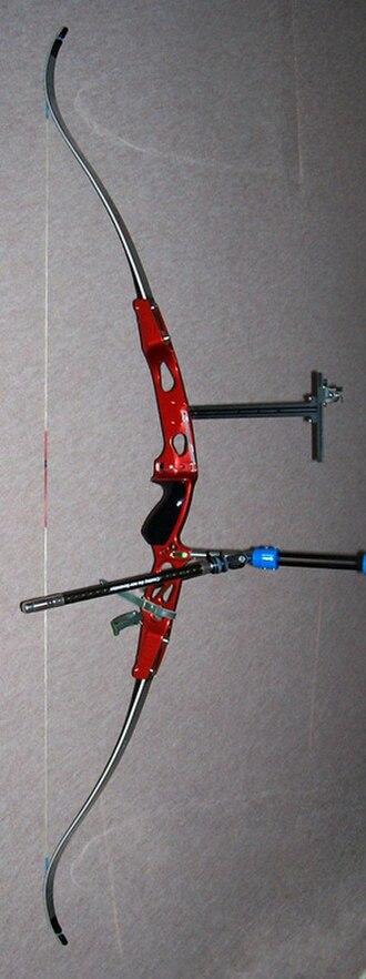 Recurve bow - A modern recurve bow