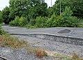 Redmire, army tank loading area, Wensleydale Railway, Yorkshire.jpg