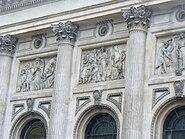 Relief on building in Bishopsgate, London 3