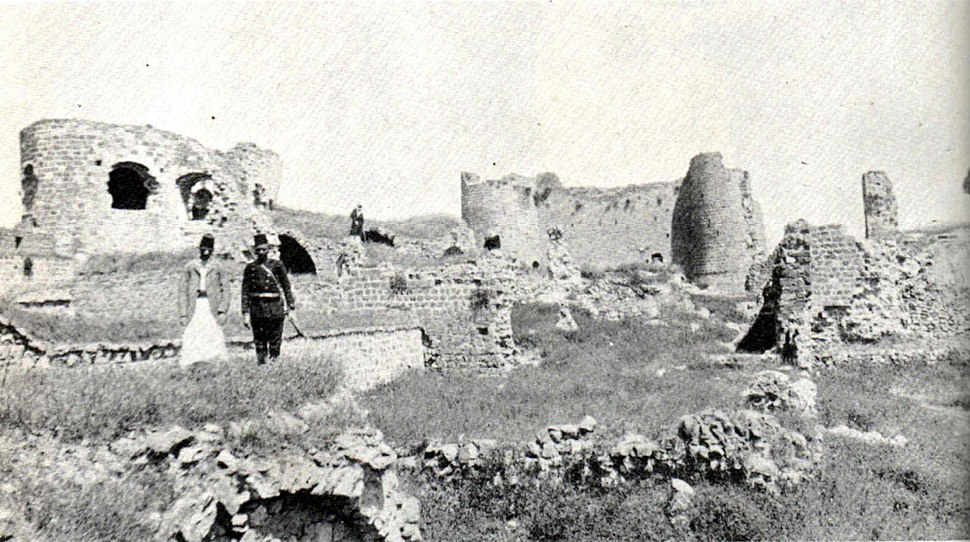 Remains Of The Citadel, 1893