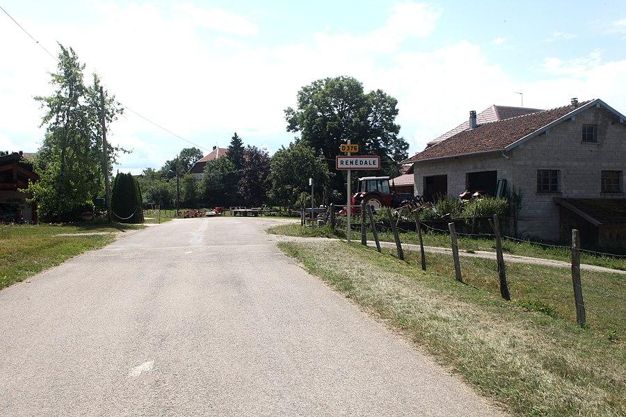 Entrée de Renédale (Doubs).