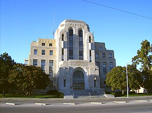 Hutchinson, Kansas - Reno County Courthouse (2008)
