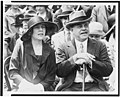 Representative and Mrs. Nicholas Longworth snapped on the Capitol steps today, as they watched the Indians from Arizona put on their snake dance LCCN94502918.jpg