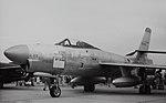 Republic XF-91 Thunderceptor Republic XF-91, 46-680 on display at Edwards Air Force Base, 1950's (16309895886).jpg