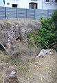 Restes de la muralla romana de València al carrer del Salvador.JPG