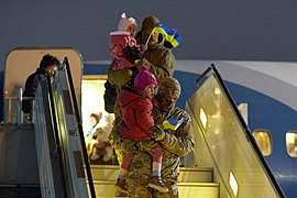 Returning of Ukrainian women and children from Syrian refugee camp 03.jpg
