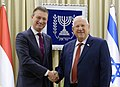 Reuven Rivlin at a working meeting with Halbe Zijlstra, January 2018 (2645).jpg