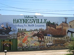 Revised Haynesville, LA, welcome sign IMG 2199.JPG