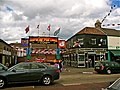 Rex Bar with Somme Memorial, Shankill Road, Belfast. - panoramio.jpg