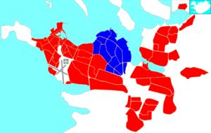 Laugardalur - Image: Reykjavík map (D04 Laugardalur)