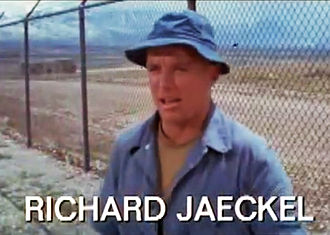 Richard Jaeckel - Jaeckel in the trailer for The Devil's Brigade (1968)