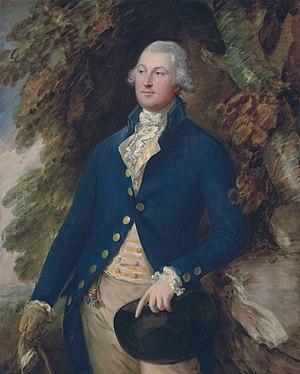 Brooke baronets - Richard Brooke, 5th Bt (1753-1795), by Thomas Gainsborough