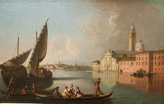 View of Venice with San Giorgio Maggiore