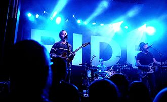 Ride (band) - Ride performing in 2015 at Saint Andrews Hall in Detroit, MI.