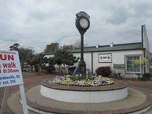 Ridgeland, South Carolina - The Ridgeland Street Clock