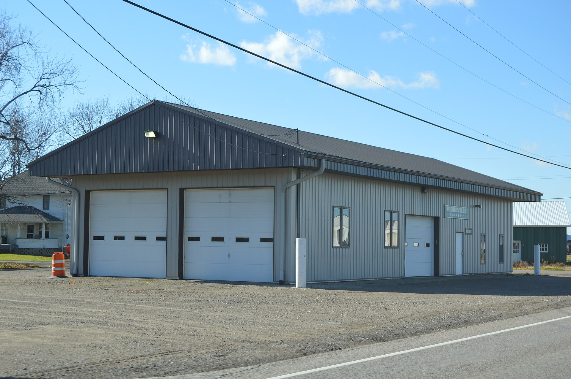 ridgeville corners Fin farm llc is a fish farm and water management business located in northwest ohio.