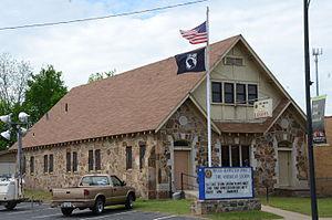 Russellville, Arkansas - Image: Riggs Hamilton American Legion Post No. 20