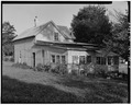 Right side from northwest - 860 Martin Luther King Jr. Parkway (Cottage), Des Moines, Polk County, IA HABS IOWA,77-DESMO,28-4.tif