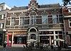foto van Dubbel woonhuis met winkel. Het pand is uitgevoerd in Neo-Renaissance stijl