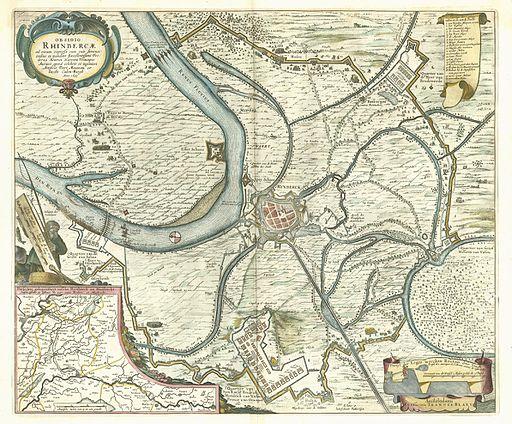 Rijnberk 1649 Blaeu
