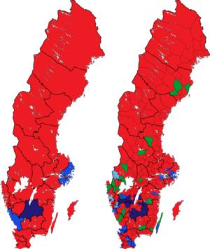 Rigsdagsvalget i Sverige 2002 i valgkredse og kommuner.png