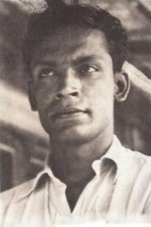 Photo of young Ritwik Ghatak