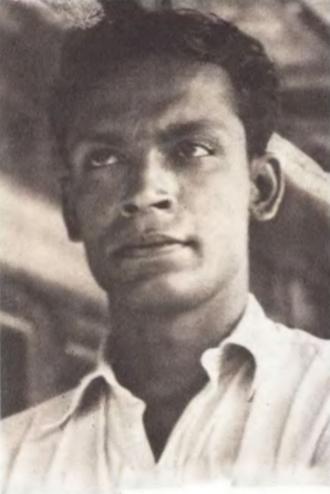 Ritwik Ghatak - Ritwik Ghatak, at young age